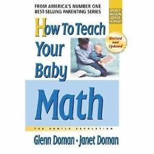 How to Teach Your Baby Math (The Gentle Revolution Series)-ExLibrary