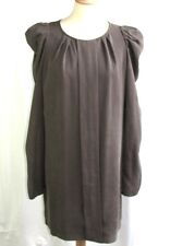 LA PETITE FRANCAISE DRESS LONG SLEEVES MODEL GOLAO BROWN TAILLE 38 EXCELLENT