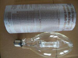 GE MVR400/U Quartz Metal Halide Lamp Bulb - 400 Watt - Mogul Base - Clear