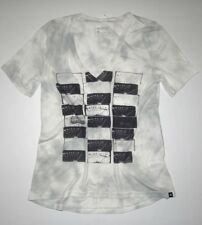 New Hurley Womens Distill Cloud V Tee Top Shirt Small