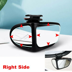 Blind Spot Mirror 1pcs Auto 360° Wide Angle Convex Rear Side View For Car Truck