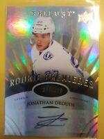 2014 15 Trilogy Jonathan Drouin Autograph Rookie Premieres /399 Montreal