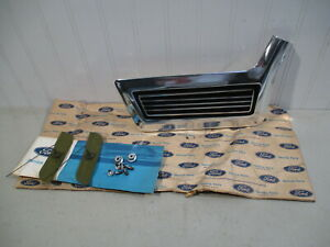 NOS 1967 FORD GALAXIE 500 XL & LTD LH FRONT LOWER FENDER MOULDING... NICE!!!