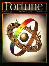 Stampa MAGAZINE COVER economia industria EARTH BAND lettera greca Globe USA nofl0632
