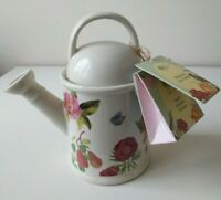 CERAMIC WATERING CAN TEAPOT & TEABAGS (2021) Royal Horticultural Society - BNWT