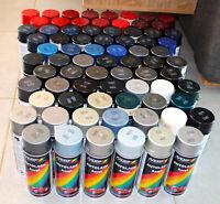 Bombe peinture automobile moto car en spray MOTIP AUTOLACK Acryl Neuf 400ml
