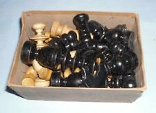 gift shabby decorative Antique vintage french regency style wooden chess pieces