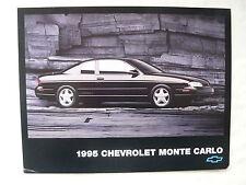 Chevrolet - 1995 Monte Carlo - US-Prospekt Brochure 1995