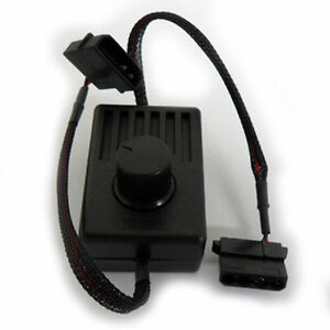 DC Fan Speed Controller, Molex 4 Pin to 4 Pin for PC Computer Case Cooling Fan