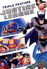 Justice League Triple Feature Dvd