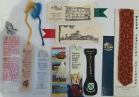 10 x Vintage Collectable Assortment of Bookmarks Souvenirs - (B61a)