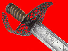 Rare 18th C. American Revolution English or French Officer's Sword, German Blade