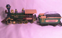 Model Train Greatland Holiday Express New Bright G Scale Pre Owned