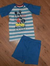 Disney Mickey Maus Kinder Schlafanzug Pyjama in Geschenkbox rot//grau 3-8 Jahre