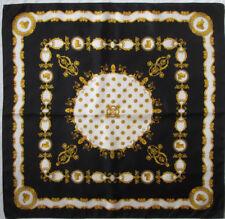 Écharpes et châles foulard noir pour femme, en 100% soie   Achetez ... ae832fd72e3