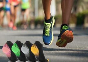5 Pairs Unisex Sport Compression Low Cut Trainer Socks