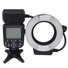 Mcoplus MCO-14EXT-N TTL Makro Ringblitz GN14 mit LED AF-Hilfslicht für Nikon