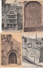 Lot 4 cartes postales anciennes MORLAIX 3