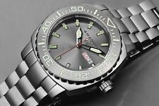 Aragon A155GRY Parma Automatic 48mm Watch