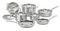 Pots and Pans Set Nonstick Dishwasher Safe Professional Cookware Induction New