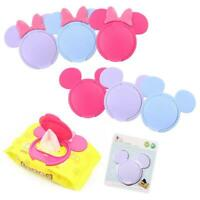 Baby Wipes Lid Cover Portable Child Wet Tissues Cute Cartoon Reusable Top Cover