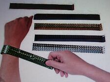 48 PC Metallic Colored SLAP BRACELET ASSORTMENT bulk party supplies jewelry