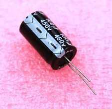 100uF, 450V Radial Electrolytic - Lot of 3      ( 100R450B )