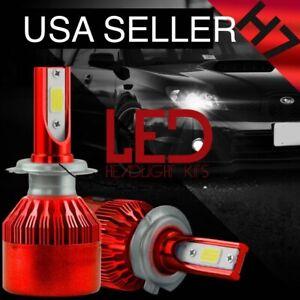 10000K H7 Size LED Car Truck Headlight Bulbs 10K BLUE xentec Headlamp 2x Bulb