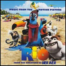 RIO - SOUNDTRACK CD ~ SERGIO MENDES~JAMIE FOXX~TAIO CRUZ ~ KIDS ANIMATED *NEW*