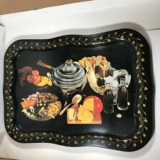 Vintage Coca-Cola Advertising TV Tray Cheese Fondue Promotional Item