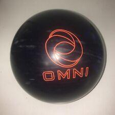 "USED 15# Ebonite Omni Reactive Resin Bowling Ball - 4 1/2"" Span"