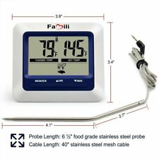 Famili MT004 Digital Electronic Kitchen Food Cooking Meat Thermometer