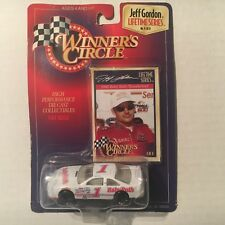 New 1997 Winners Circle 1:64 Die Cast NASCAR Jeff Gordon Baby Ruth Ford #1