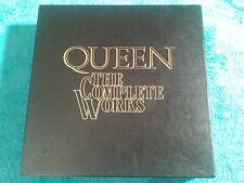 QUEEN - The Complete Works - Box Set - 14 LPs - ltd. Edition - EMI / QB1 - RAR