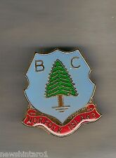 #D265. NORFOLK   BOWLING CLUB  LAPEL  BADGE - PINE TREE  THEME