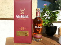 GLENFIDDICH 25 YEARS OLD RARE OAK 0.7L 43% Scotch Whisky.RARITAT!