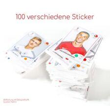 Panini WM Russia 2018 - Sammeln Sticker - 100 verschiedene Sticker