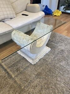 Vintage Fossil Stone Coffee Table