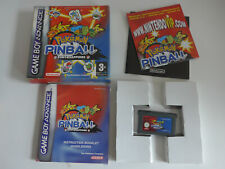 Pokemon Pinball Ruby & Sapphire Nintendo Gameboy Advance Game GBA Complete