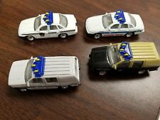 4  POLICE CARS; PENNSYLVANIA STATE POLICE, CHICAGO PD, FLORIDA STATE POLICE