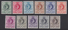 Swaziland 1938 Mint MLH Part Set Definitives 11 values to 10s King George KGVI