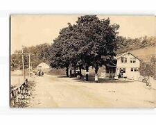 ST1609: GAS STATION AT MAPLE HURST REST SUSSEX NJ (late 1920's RPPC/postcard)