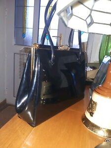 Vintage 1960s Patent Leather handbag