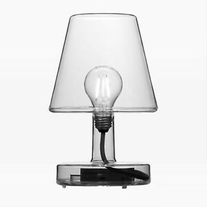 Fatboy Transloetje Rechargeable LED Table Lamp Gray Grey West Elm