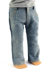 "Denim  Pants Fits 18"" American Girl Doll Logan"