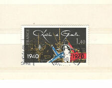 FRANCIA 2114 - MEMORIAL CHARLES DE GAULLE 1980 - MAZZETTA 10 USATI - VEDI FOTO
