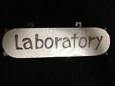 Dexter Horror Sign-LABORATORY-Mad Scientist Door Wall Halloween Prop Decoration