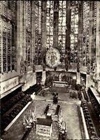 Kirchen Motiv-AK Innenansicht ca. 1950/60 Dom Hoch-Chor in Bad Aachen s/w AK