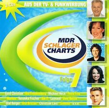 Mdr Schlager Charts Folge 7 - 2 CD NEU  Wilde Herzen Petra Frey Andre Stade