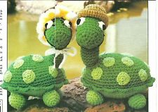 *Ted & Tina Turtle crochet Pattern Instructions
